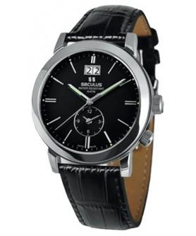 Seculus 9537.1.620 black, ss, black leather