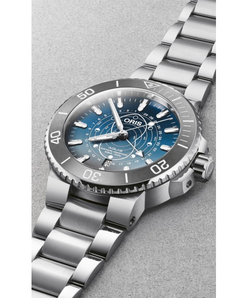 Часы Oris Dat Watt Limited Edition 761.7765.4185 Set