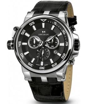 Seculus 4510.5.503D black, ss, black leather