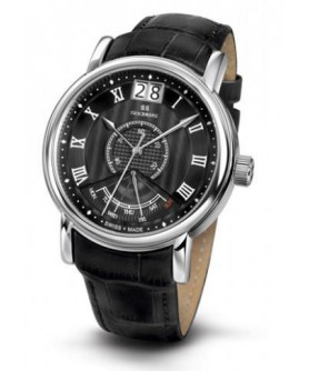 Seculus 4506.3.7003 black, ss, black leather