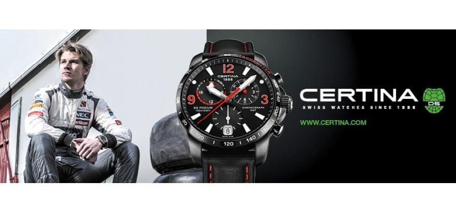 Часовой бренд CERTINA