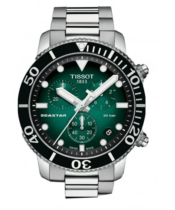 Часы Tissot Seastar 1000 Quartz Chronograph T120.417.11.091.01