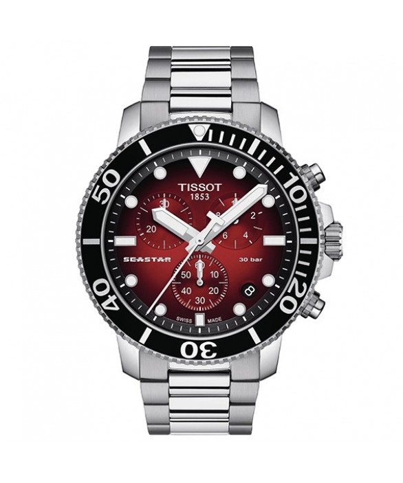 Часы Tissot Seastar 1000 Quartz Chronograph T120.417.11.421.00