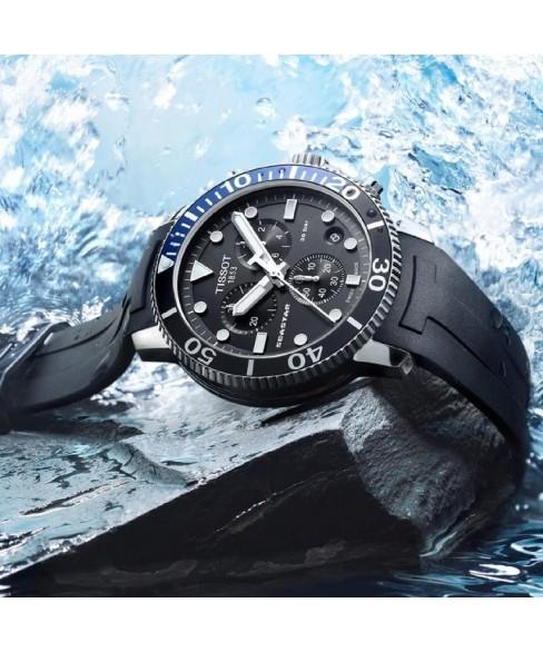 Часы Tissot Seastar 1000 Quartz Chronograph T120.417.17.051.02