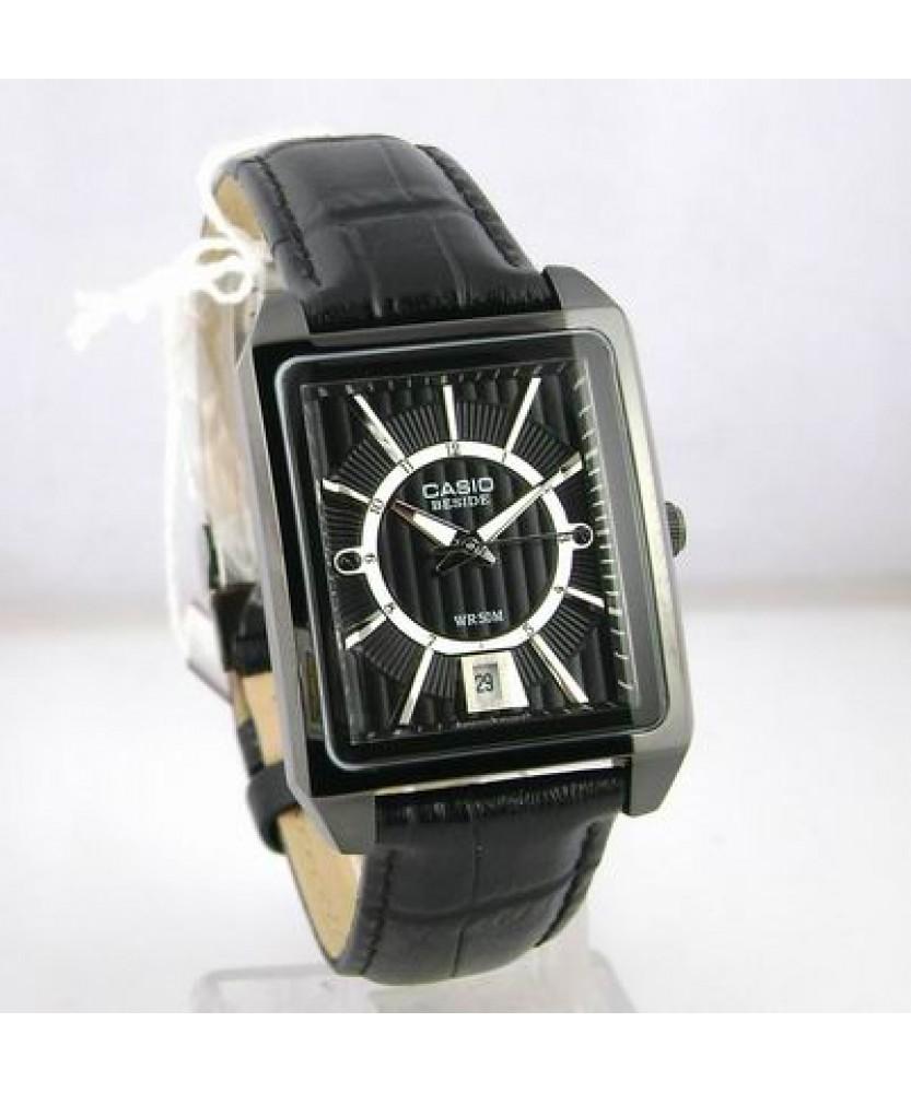 Купити годинник Casio BEM-120BL-1AVEF з гарантією 2 роки і ... a1ebbe6f15e6a