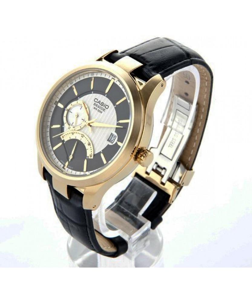 Купити годинник Casio BEM-308GL-1AVEF з гарантією 2 роки і ... 4bb9125e103c2