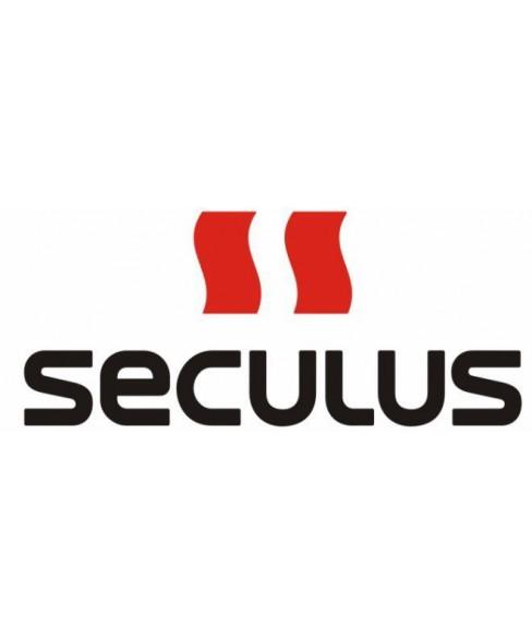 Seculus 4487.2.715 white, ss tr-b blue tracks, black blue leather