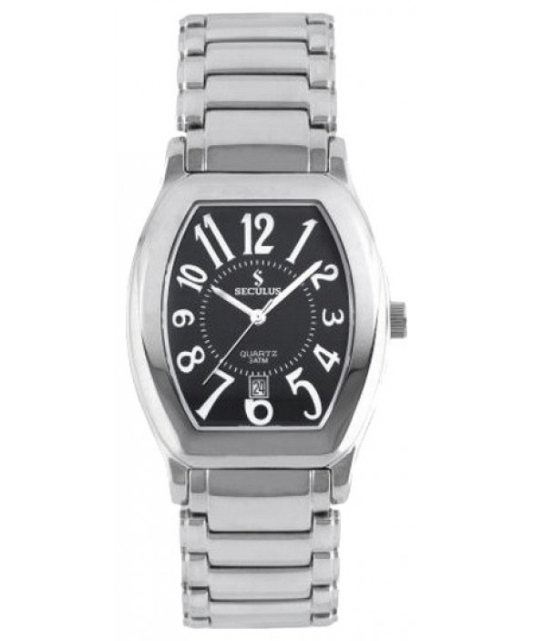 Часы Seculus 4418.1.505 black, ss